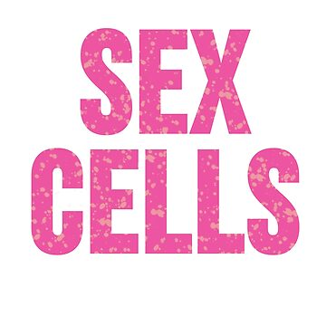 Sex Cells Punny Pink Watercolor Janelle Monae PYNK  by SunFunSpring