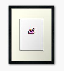 Kirby painter Framed Print