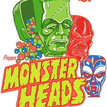 MONSTER HEADS! by MINION-FACTORY