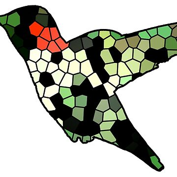 Hummingbird cell tiles by narwhalwall