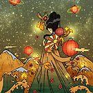 «Diosa japonesa del mar» de Adri-Ana-Art