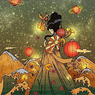 Diosa japonesa del mar de Adri-Ana-Art
