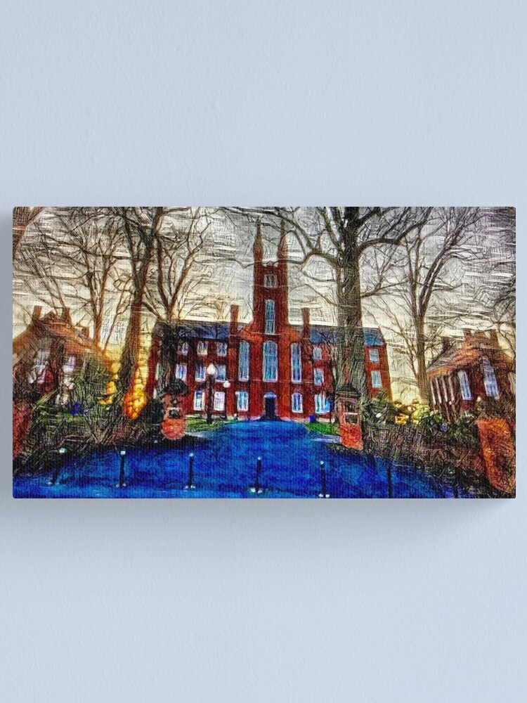 Alternate view of Franklin & Marshall Old Main Canvas Print