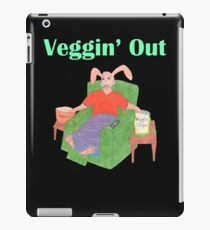 Veggin Out Snacking Bunny iPad Case/Skin