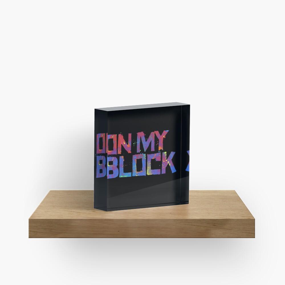 Auf meinem Block Acrylblock