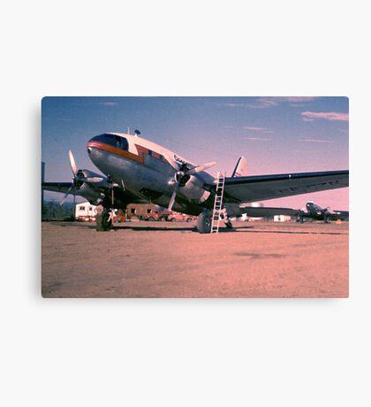 Arctic Air Service-1955 Canvas Print