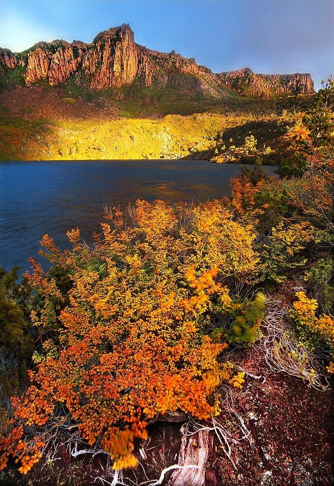 Autumn at Lake Oenone by Kevin McGennan