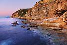 Dawn light on Bau Rouge beach by Patrick Morand