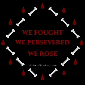 Children of Blood and Bone Quote by avdreaderart