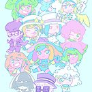 Gloomverse Pastel Group by CrayonQueen