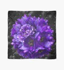 Purple Delphinium Art Fashion and Home Decor Scarf