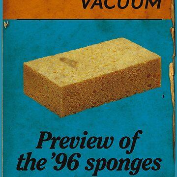 Sponge and Vacuum by metalspud