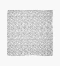 Black and white diamond pattern Scarf