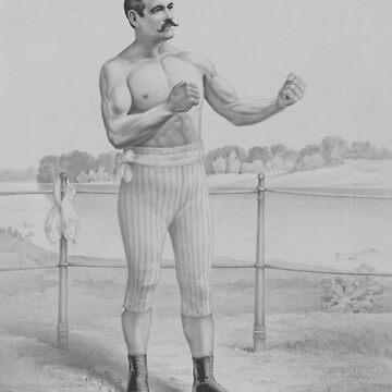 John L. Sullivan - Bare-Knuckle Boxer von warishellstore