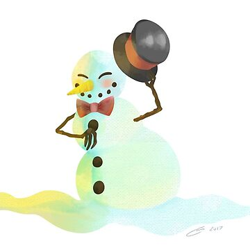 Snowman by Thecreator2020