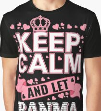 Keep Calm And Let Banma Handle it Mother's day Tee Shirt Graphic T-Shirt