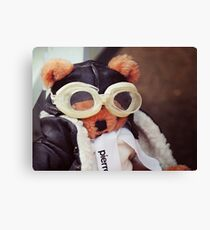 Teddy Pierre The Aviator Canvas Print