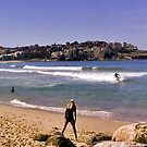 Waterscape: Bondi Beach Panorama by Vanessa Pike-Russell