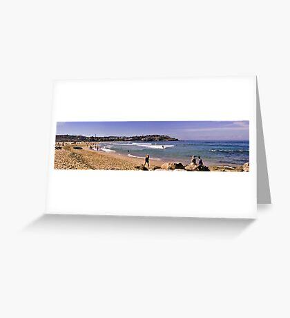 Waterscape: Bondi Beach Panorama Greeting Card