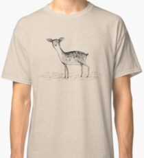 Monochrome Deer Classic T-Shirt