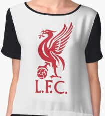 liverpool football club Chiffon Top