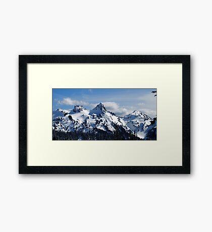 The Tatoosh Mountains Framed Print