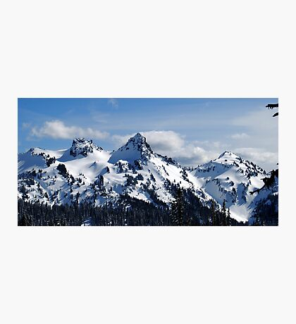 The Tatoosh Mountains Photographic Print