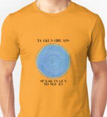Talking Heads - Sprechen in Zungen Unisex T-Shirt