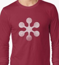 Circle Study - White Long Sleeve T-Shirt