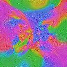Abstract energy by blackhalt