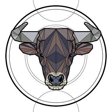 Taurus Bull by ErinJain
