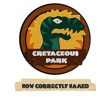 Cretaceous Park by CrescentPon3
