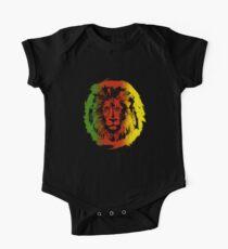 Iron Lion Zion | Rasta Reggae Colors Lion Cool T-shirt One Piece - Short Sleeve