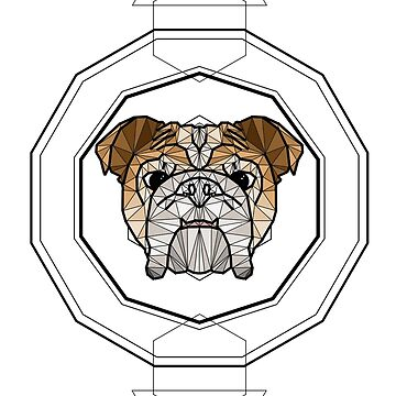 Bulldog - Colour by ErinJain