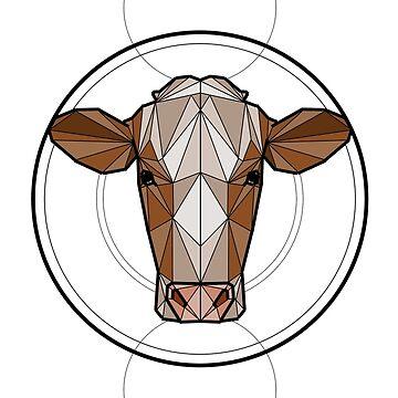 Cow - colour by ErinJain