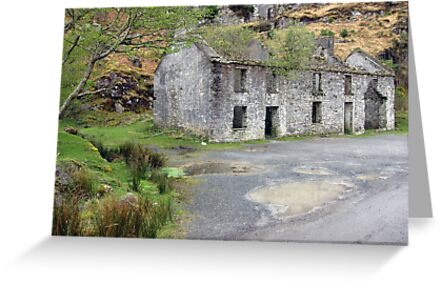 Gap of Dunloe cottage by John Quinn