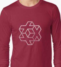 IsoCross - White Long Sleeve T-Shirt