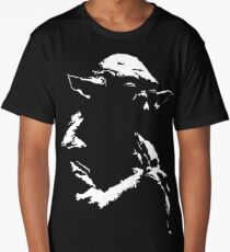 Star Wars Yoda Minimal Long T-Shirt