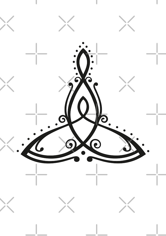 Celtic Symbol Mother With Child By Christine Krahl Redbubble