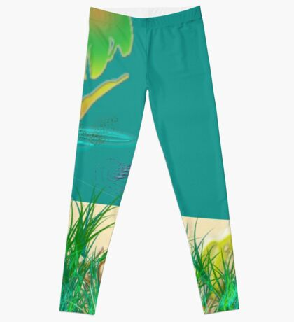 A Day At The Beach Leggings