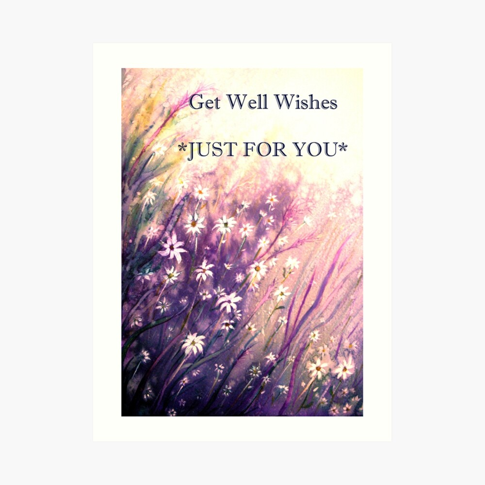 Just for You - Flowers Art Print