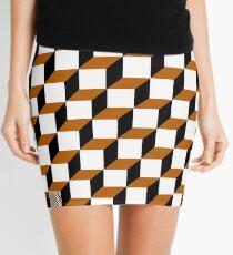 Cubism Squared Mini Skirt