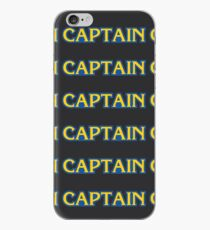 captain capcom logo iPhone Case
