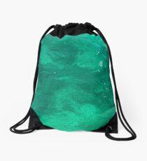 Inviting Water Drawstring Bag