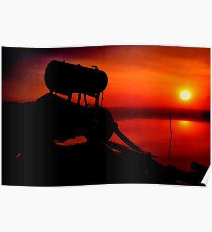 """""""The Shrouded Sunrise"""" Poster"""