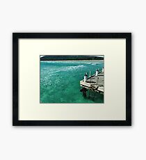 Not a soul in sight Framed Print