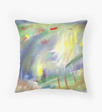 Abstract worlds Throw Pillow