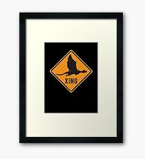 Crypto Xing - Dragon Framed Print