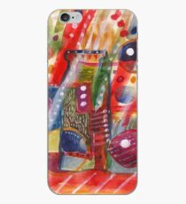 Abstract with jug iPhone Case