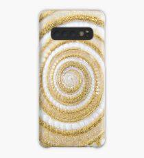 Golden Spiral Case/Skin for Samsung Galaxy